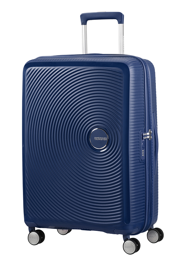 Valise rigide American Tourister Soundbox 77 cm Midnight Navy bleu J8KjQCL